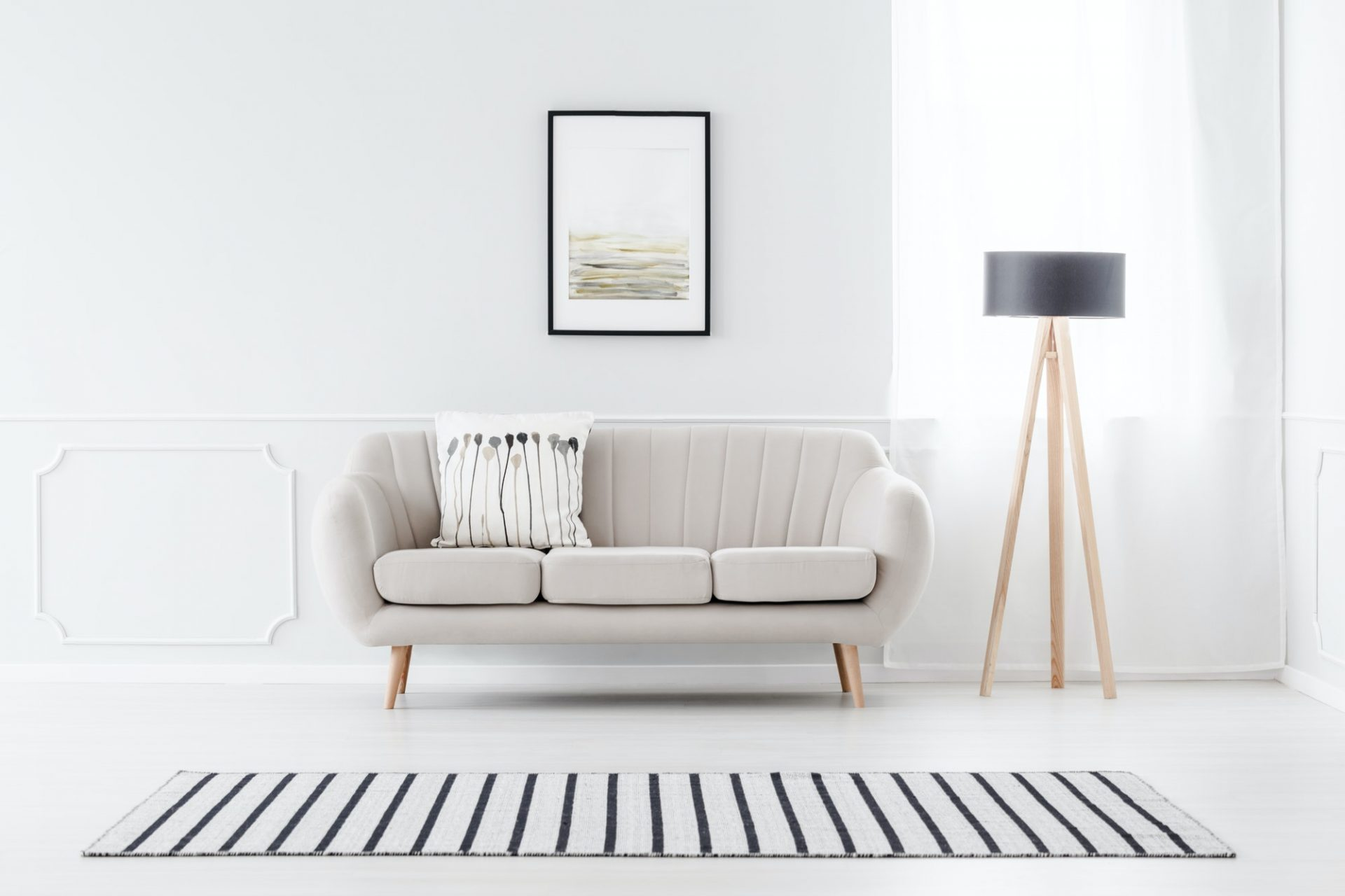 Couch Against Wall