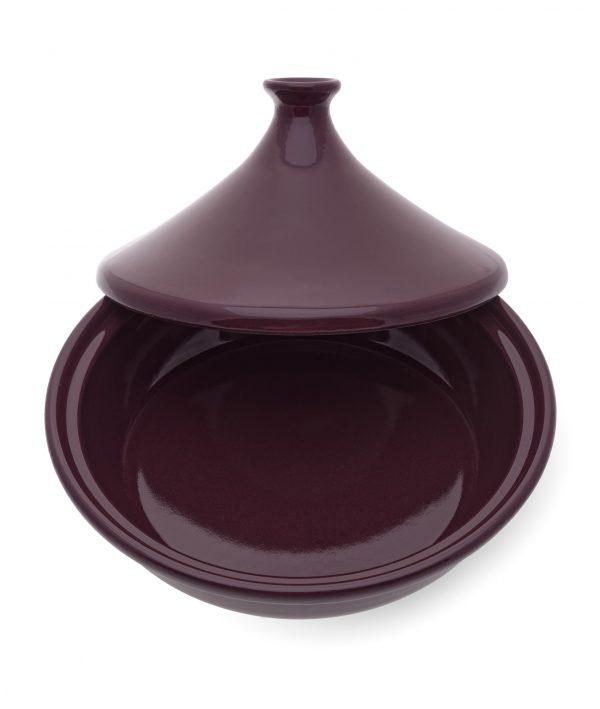 Traditional Moroccan ceramic tagine
