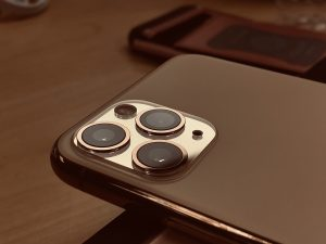The triple lens camera on the iPhone 11 Pro Max! 📱