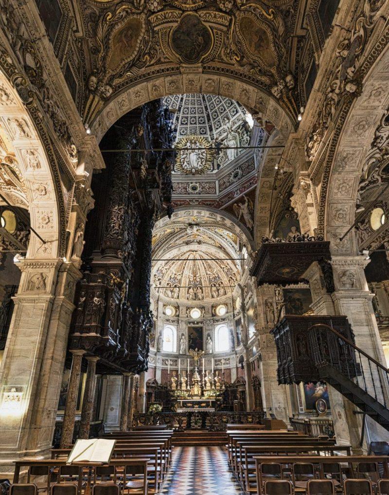 Madonna di Tirano (Sondrio), historic sanctuary, interior