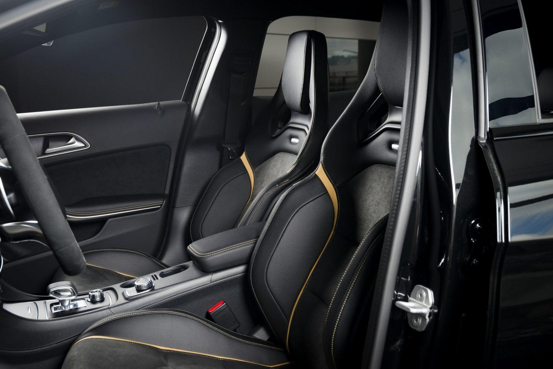 Modern race car interior.