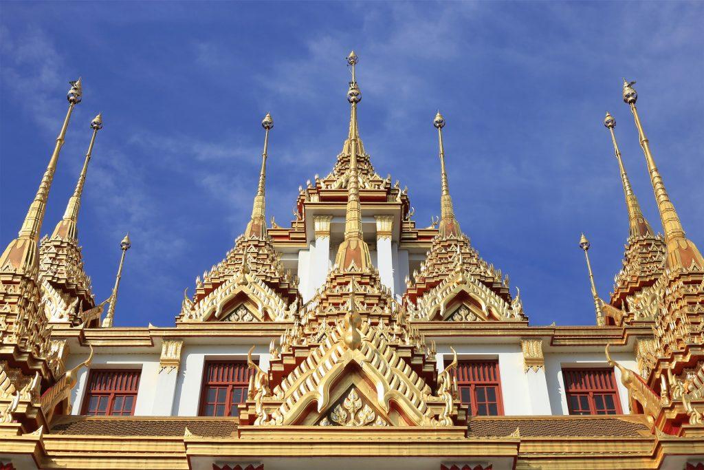Loha Prasat at Wat Ratchanadda, Bangkok, Thailand