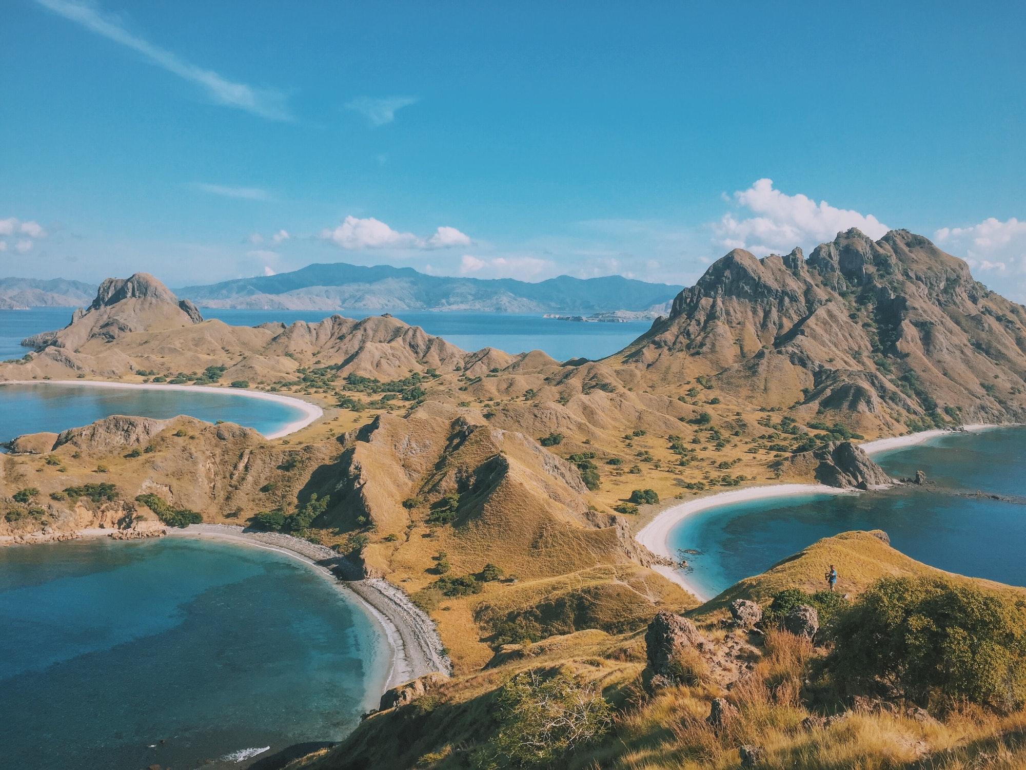 Padar Island, Labuan Bajo, Indonesia